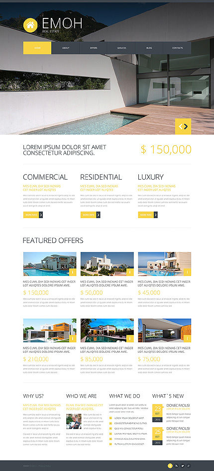 Real Estate Agency Joomla TMT