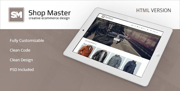 Shop Master - Premium eCommerce HTML5 Template  TForest