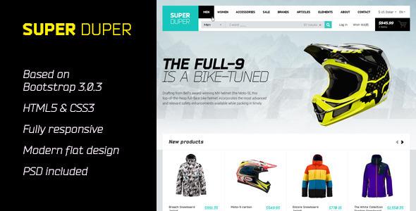 SuperDuper | HTML5 Template Responsive  TForest