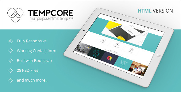 Tempcore - Business HTML5 Template  TForest