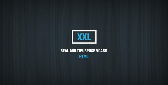 XXL - Multipurpose HTML vCard  TForest