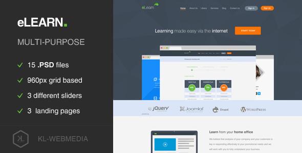 eLearn - Multi-Purpose PSD Template  TForest