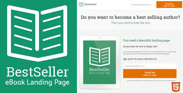 BestSeller - HTML eBook Landing Page  TForest