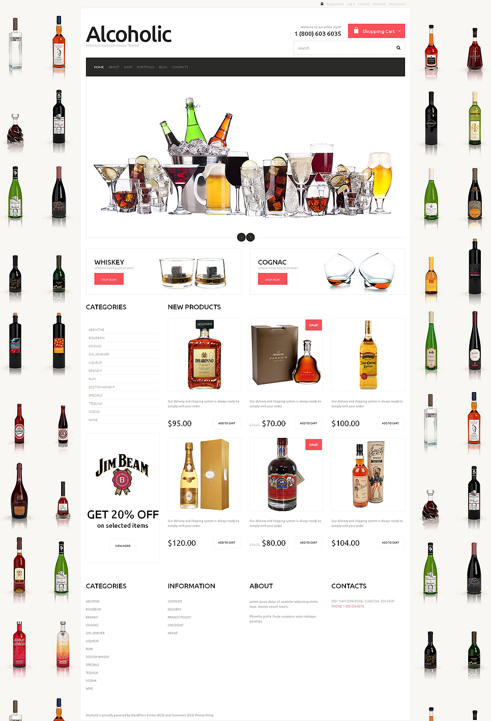 Food & Drink Responsive Jigoshop Theme TMT