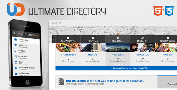 Directory - Responsive Site Template   TForest