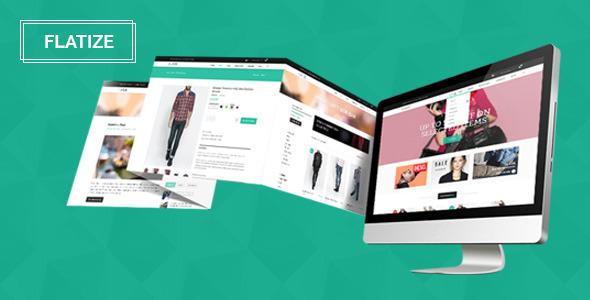 Flatize - Fashion eCommerce PSD Template  TForest
