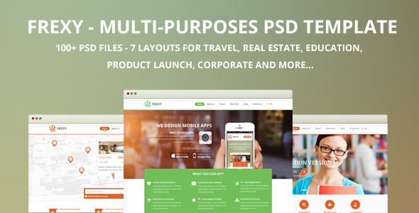Frexy-Multi-purposes PSD template  TForest