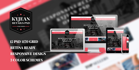 KyJean - Responsive eCommerce PSD Template  TForest