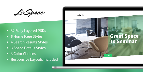 Le Space - PSD  TForest PSDTemplates