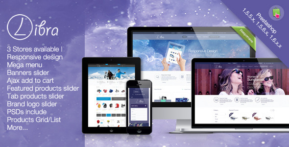 Libra - Multipurpose Responsive Prestashop Theme  TForest