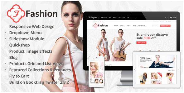Responsive Shopify Theme - Fashion  TForest