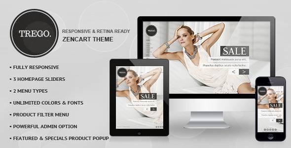 Trego - Premium Responsive Zencart Theme  TForest