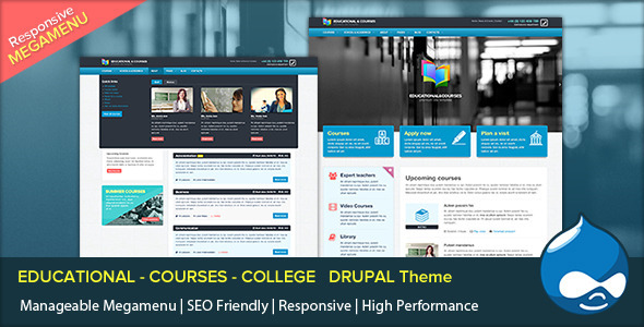 EDU - Educational, Courses, College with Megamenu   TFx
