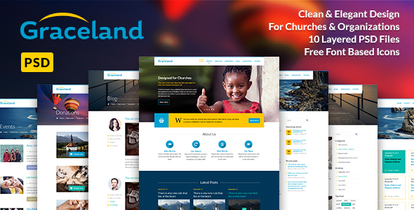 Graceland: PSD for Church & Charity  TFx