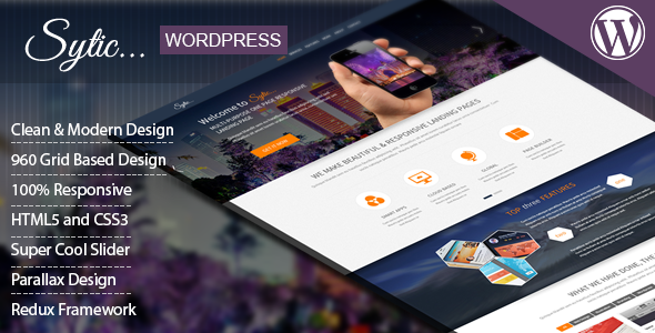Sytic - WP Responsive Multipurpose Theme   TForest