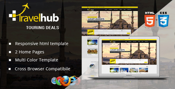 Travel Hub - Touring Packages - HTML Template  TFx