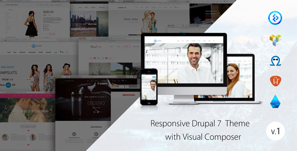 Aura - Responsive multipurpose theme  TFx