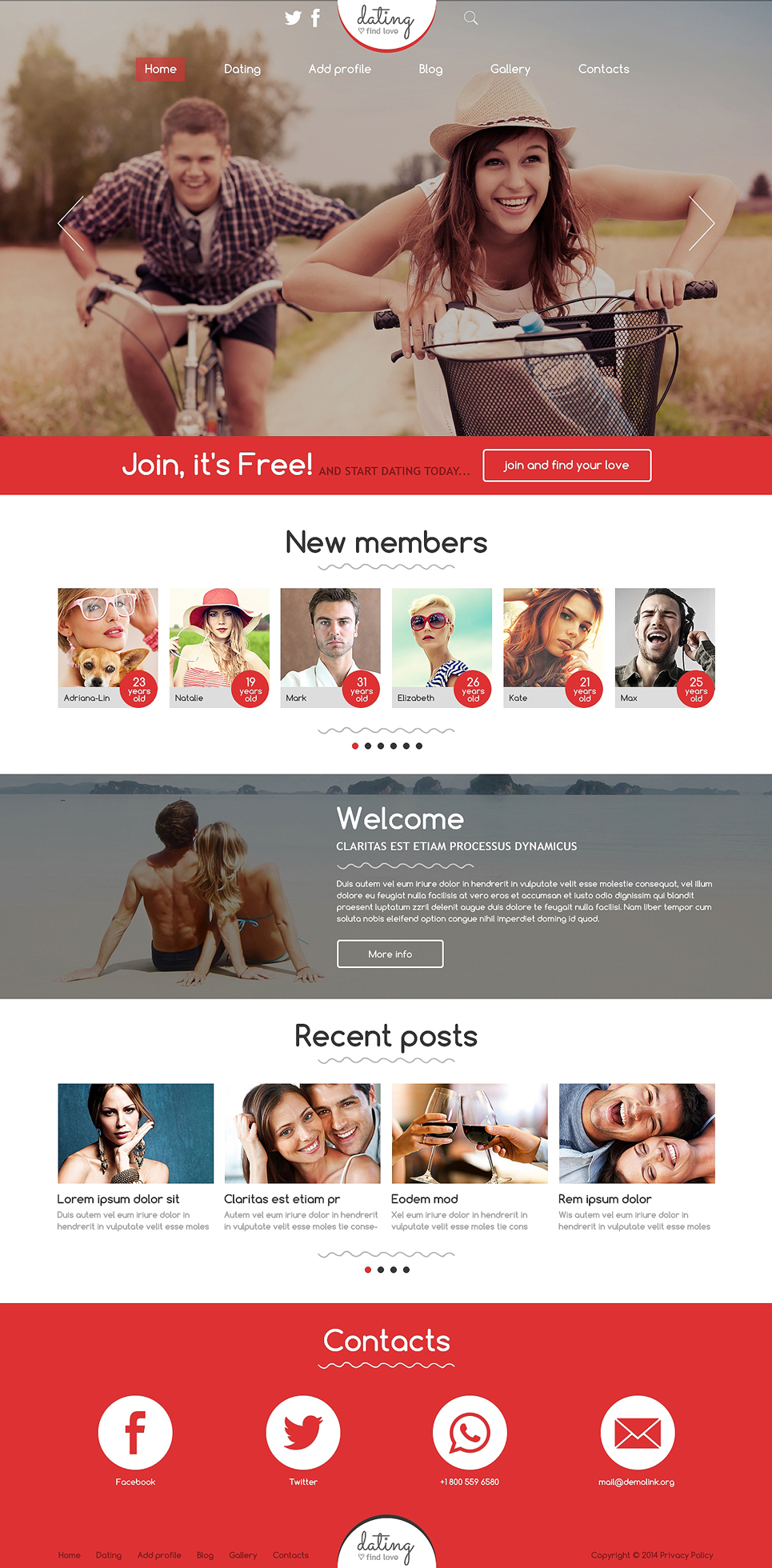joomla dating templates free download Jsn buildup is a highly responsive joomla template for construction company and vacation rental websites at the first look at it, you will be amazed at the professional and luxurious design with jsn buildup, it is easy to build a business website, a housing service site, or even an ecommerce.