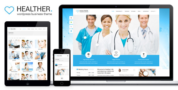 Healther - Medical & Health WordPress Theme  TFx