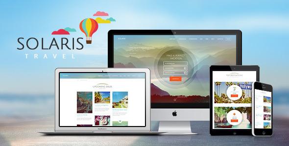Solaris | Travel & Hotel Booking Theme  TFx