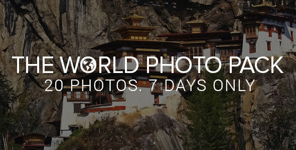 Envato Exclusive: The World Photo Pack  TFx