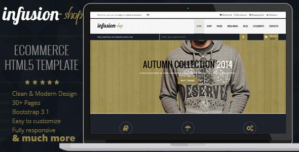 Infusion Shop  TFx SiteTemplates