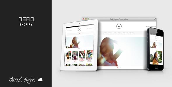 Nero - Responsive Shopify Theme  TFx Shopify