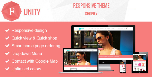 Funity - Responsive Shopify Theme  TFx