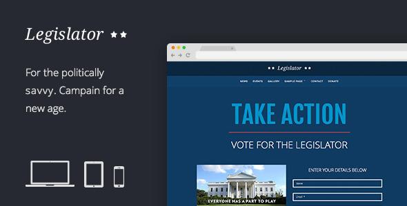 Legislator: Political Campaign Template  TFx