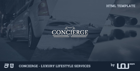 Concierge - Luxury Lifestyle Services HTML  TFx