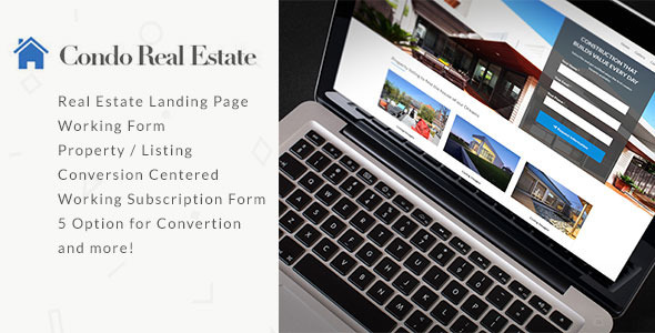 Condo Real Estate Landing Page  TFx LandingPages
