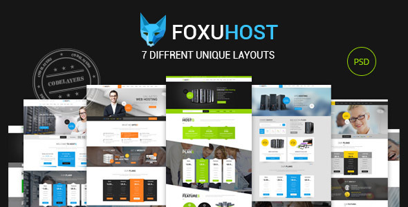 Foxuhost - Hosting / Business Template  TFx