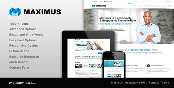 Maximus -  Multipurpose Business Template  TFx