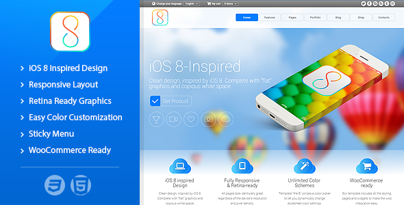 The 8 - Responsive Multipurpose Template  TFx