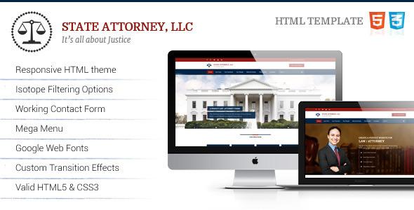 Attorney & Law | Lawyers HTML Theme  TFx