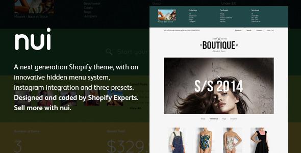 Nui - Responsive Shopify Theme  TFx Shopify