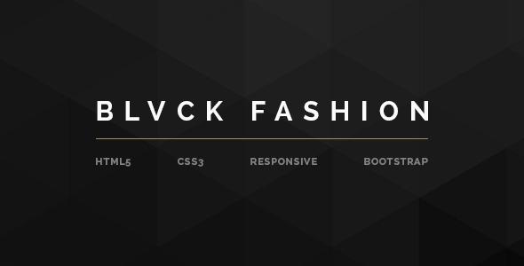BLVCK - Fashion Multipurpose eCommerce HTML5  TFx