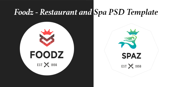 Foodz - PSD For Restaurant and Spa  TFx