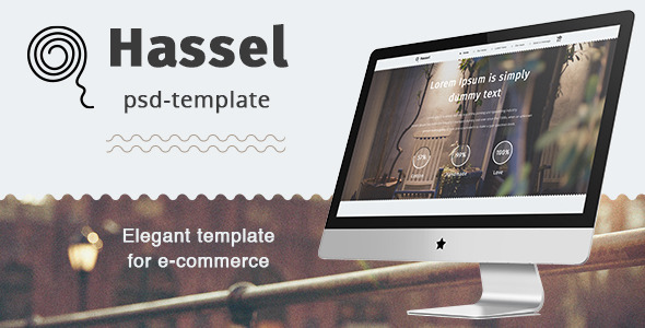 Hassel PSD Template  TFx PSDTemplates