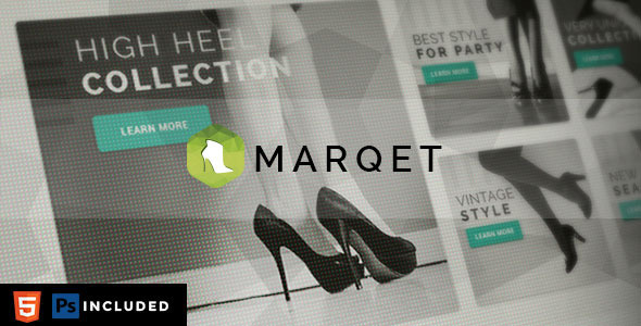 MarQet - Responsive eCommerce Template  TFx