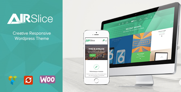 AirSlice - Creative Responsive Wordpress Theme  TFx