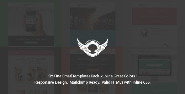 SixPack - Professional Responsive Email Templates  TFx