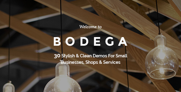 Bodega - A Stylish Theme For Small Businesses  TFx