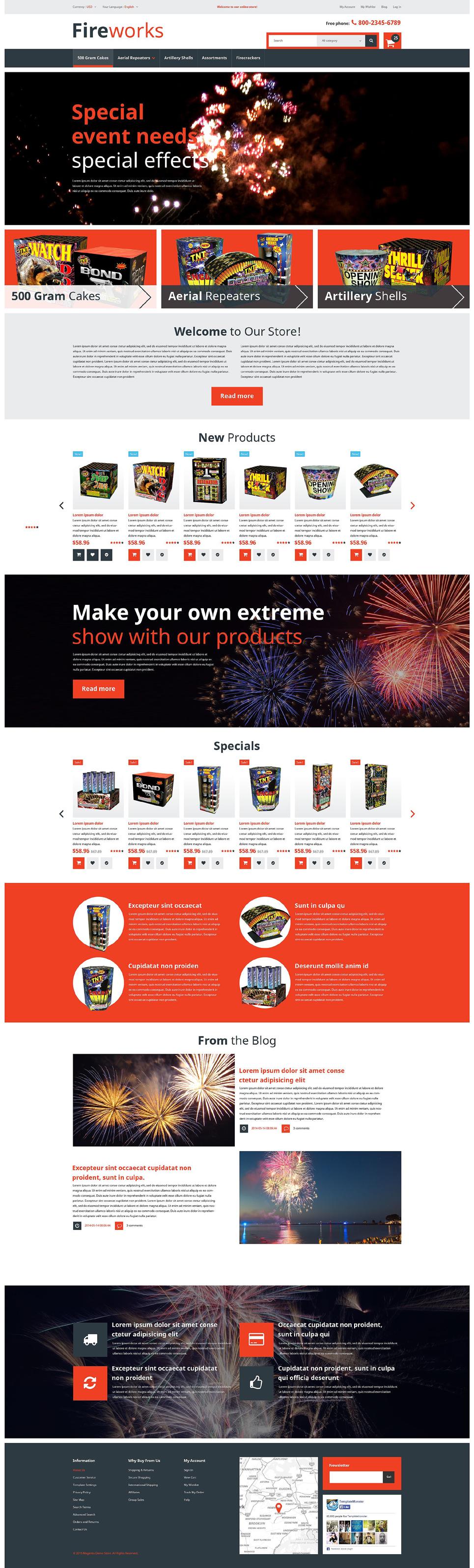 Fireworks Store Magento Theme TMT