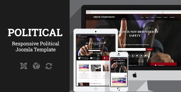 Political - Joomla Template  TFx