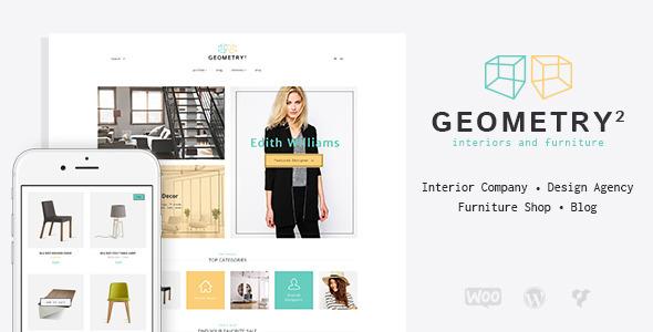 Geometry | Interior Design & Furniture WordPress Theme  TFx