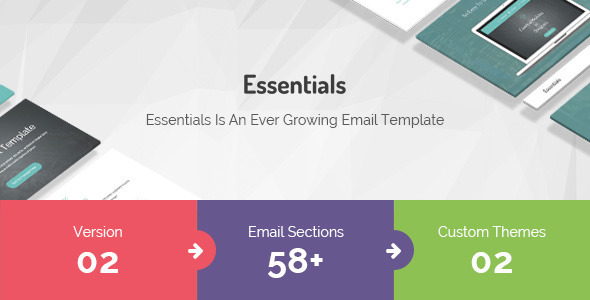 Essentials |  | Responsive Multi-Purpose Email Template            TFx
