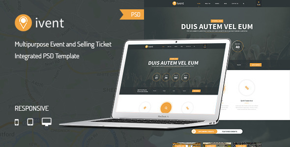 iVent - Multipurpose Event PSD Template            TFx