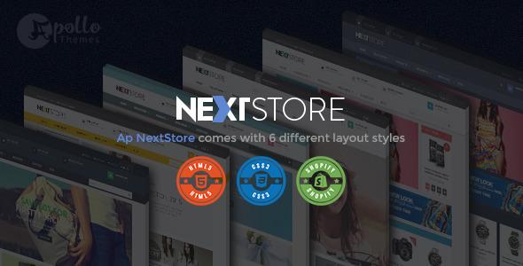 Ap Next Store - Shopify Responsive Theme            TFx