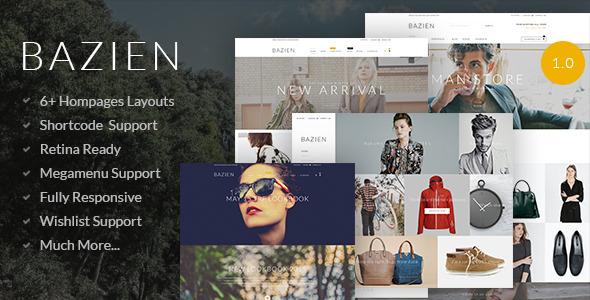 Bazien - Shopify Theme            TFx